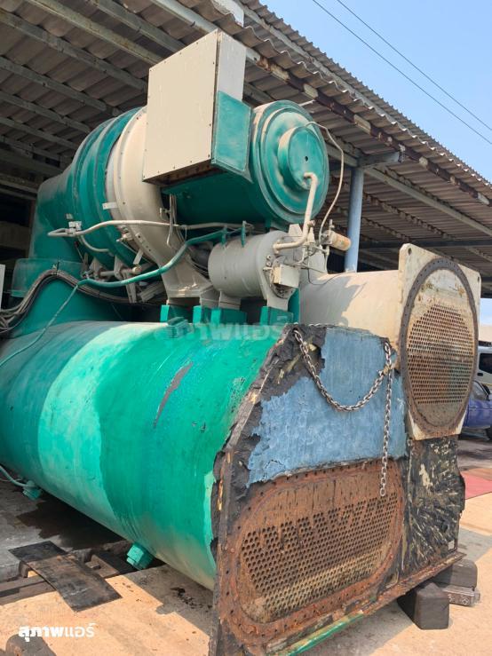 งานรื้อถอน Chiller เก่า Trane CVHG 1000 Ton ออกจากโรงงาน