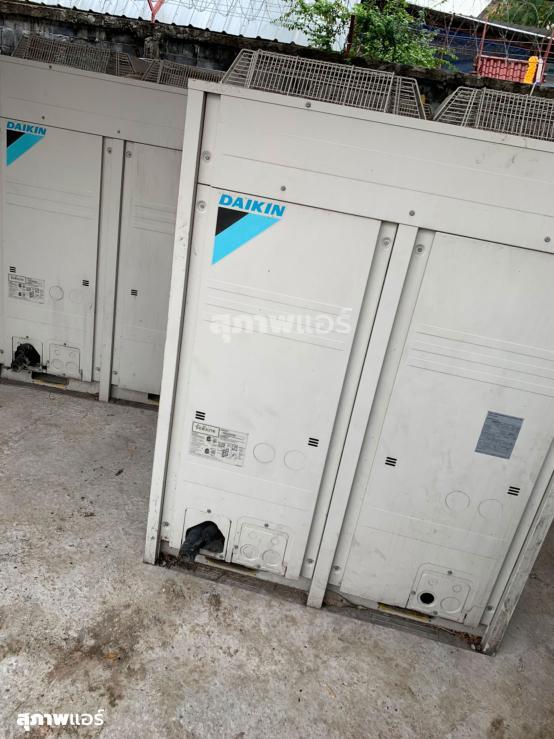 รับแอร์ไดกิ้นมือสองแบบตู้ตั้งพื้น ขนาด 200000BTU สภาพสวย